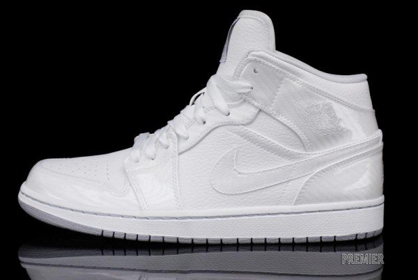 air jordan 1 patent leather white