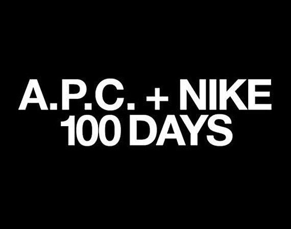 A.P.C. x Nike 2012 Collaboration