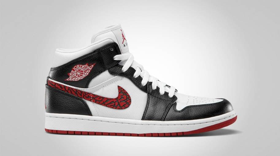 Air Jordan 1 Phat White/Varsity Red-Black