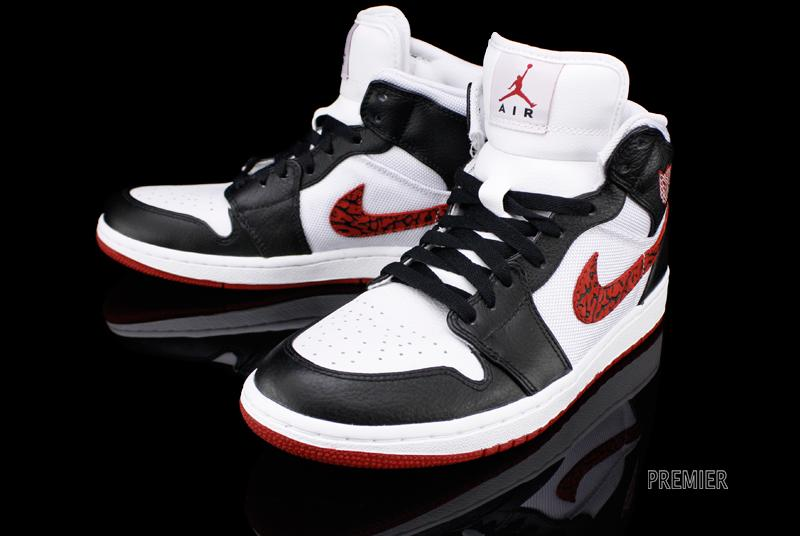 Air Jordan 1 Phat 'WhiteVarsity Red Black' Now Available