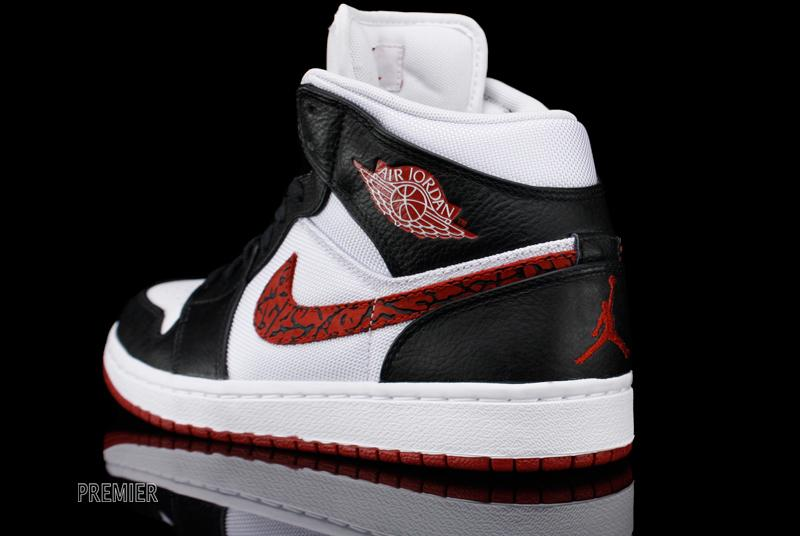 Air Jordan 1 Phat 'White/Varsity Red-Black' - Now Available