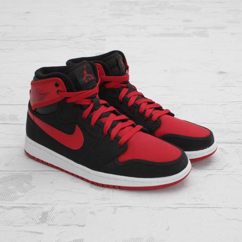 Air Jordan 1 Retro KO Hi 'Black/Varsity Red-White' - New Images