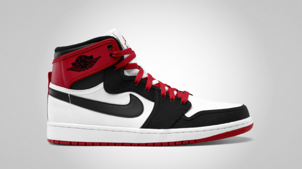 Air Jordan 1 Retro KO Hi  White Black-Varsity Red  Delayed at ... 35e296c60