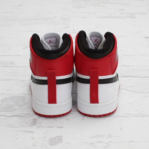 Air Jordan 1 Retro KO Hi 'White/Black-Varsity Red' - New Images