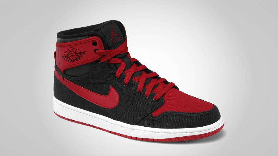 Air Jordan 1 Retro KO Hi 'Black/Varsity Red-White' - Official Images
