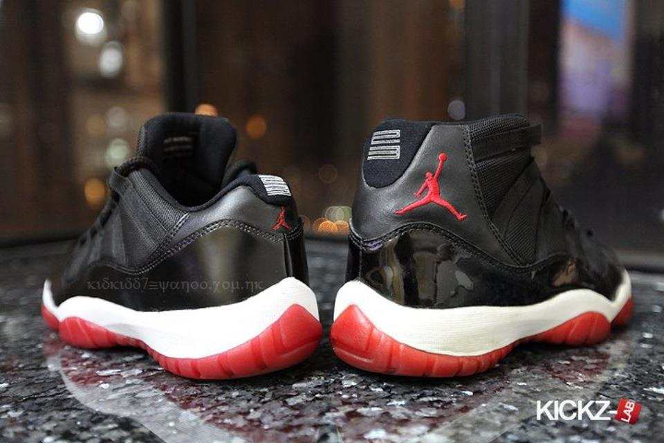 Air Jordan 11 Low 'Black/Red-White'
