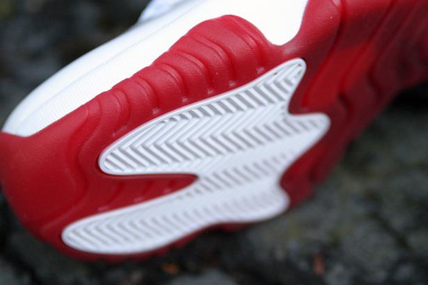 Air Jordan 11 Low  White Varsity Red-Black  at Social Status ... 08a92b9a4