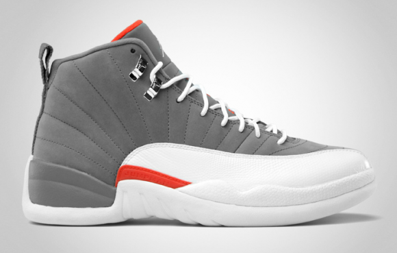 Air Jordan 12 Cool Grey - Official Images