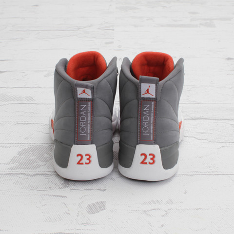 Air Jordan 12 'Cool Grey' at Concepts