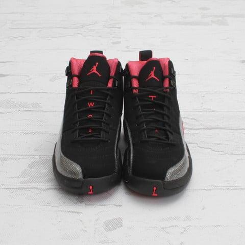 Air Jordan 12 GS 'Black/Siren Red'