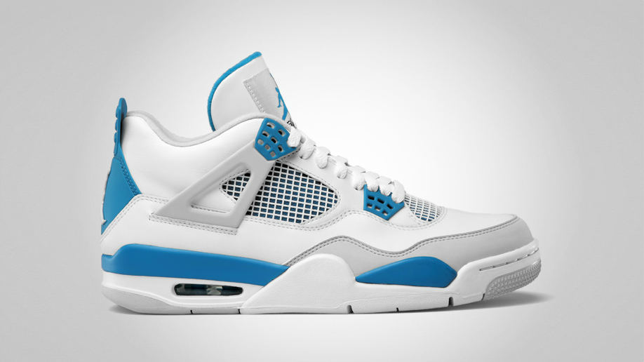 durable modeling Air Jordan 4 Military Blue Official Images 872296fb2bd6