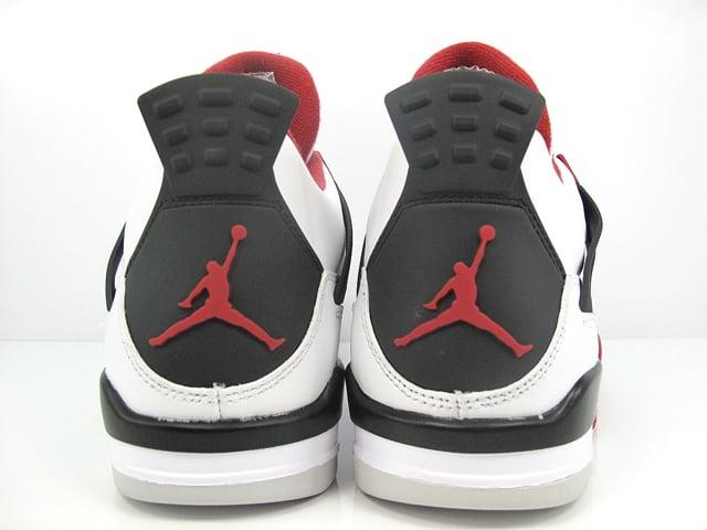 Air Jordan 4 'White/Varsity Red-Black' - Another Look
