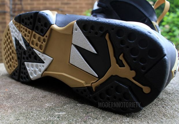 Air Jordan 7 Golden Moments Pack - Detailed Images