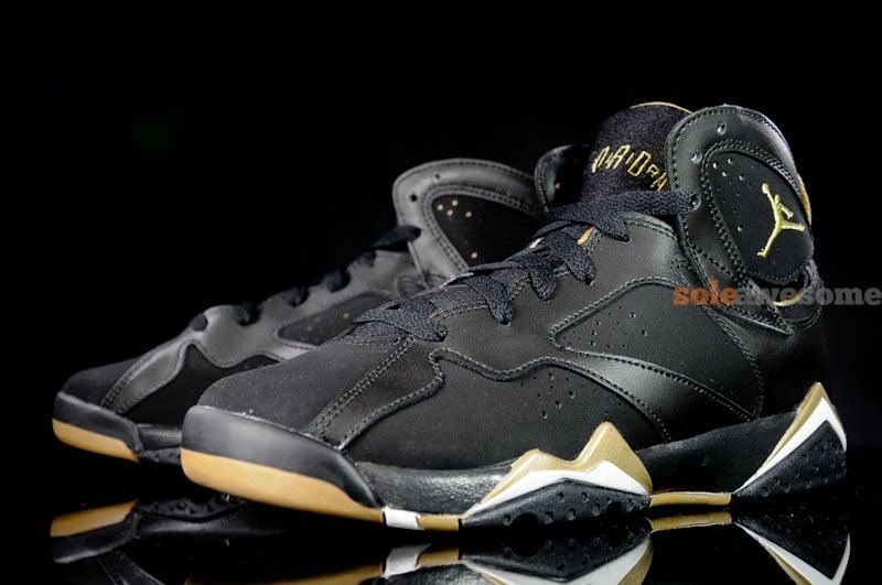 super popular 0fa02 3cd4e Air Jordan 7  Golden Moments Pack  - New Images