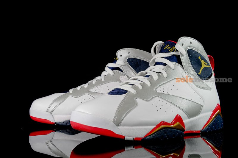 sports shoes be099 c791d Air Jordan 7 'Olympic' - Another Look | SneakerFiles