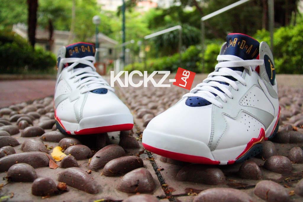 Air Jordan 7 'Olympics' - New Images