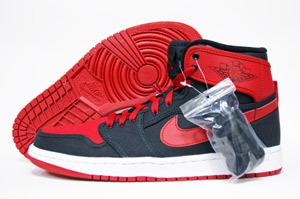 Air Jordan Retro 1 KO High QS 'Black/Varsity Red-White'
