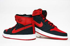 Air Jordan Retro 1 KO High QS  Black Varsity Red-White   412c03b3f