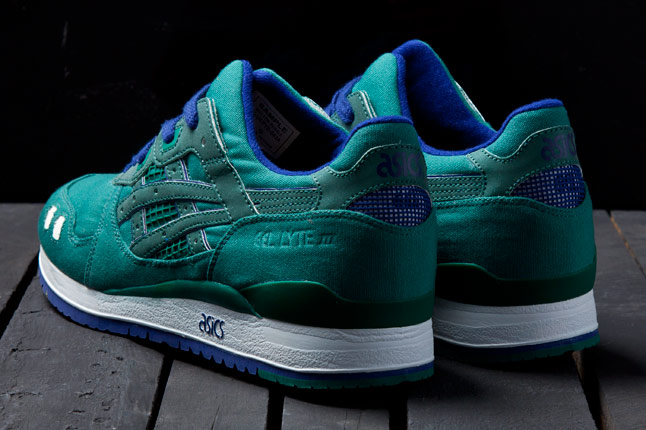 BAIT x ASICS Gel Lyte III Rings Pack 'Green'
