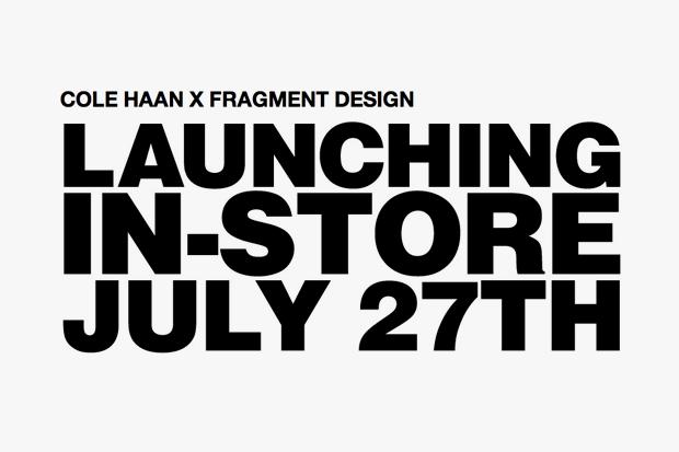 Cole Haan x fragment design - July 2012