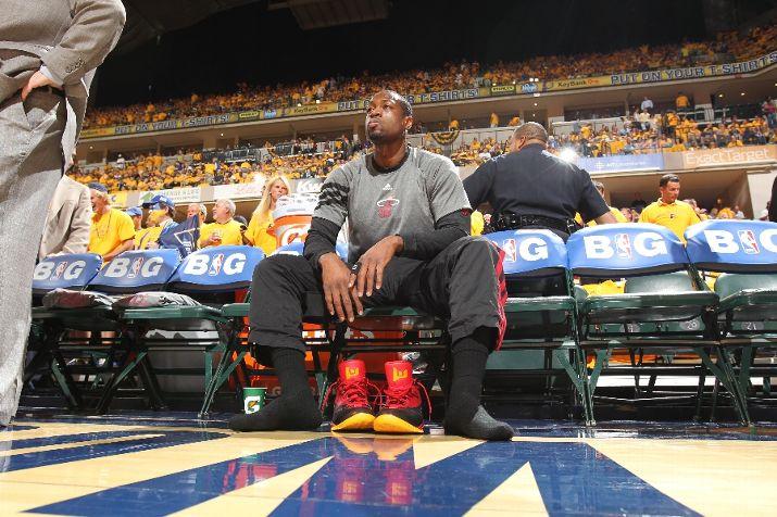 Dwyane Wade Drops 41 to Eliminate Indiana