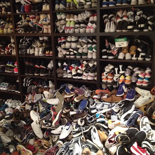 Edison Chen's Sneaker Closet