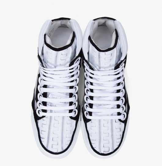 Givenchy Two-Tone Woven Panel Sneakers