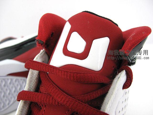 Jordan D'Reign 'White/Red-Black'