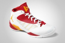 Jordan Fly Wade 2 EV 'White/Del Sol-Gym Red'