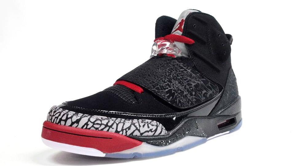 buy popular a9bff d55aa Jordan Son of Mars  Black Varsity Red-Cement Grey-White  -
