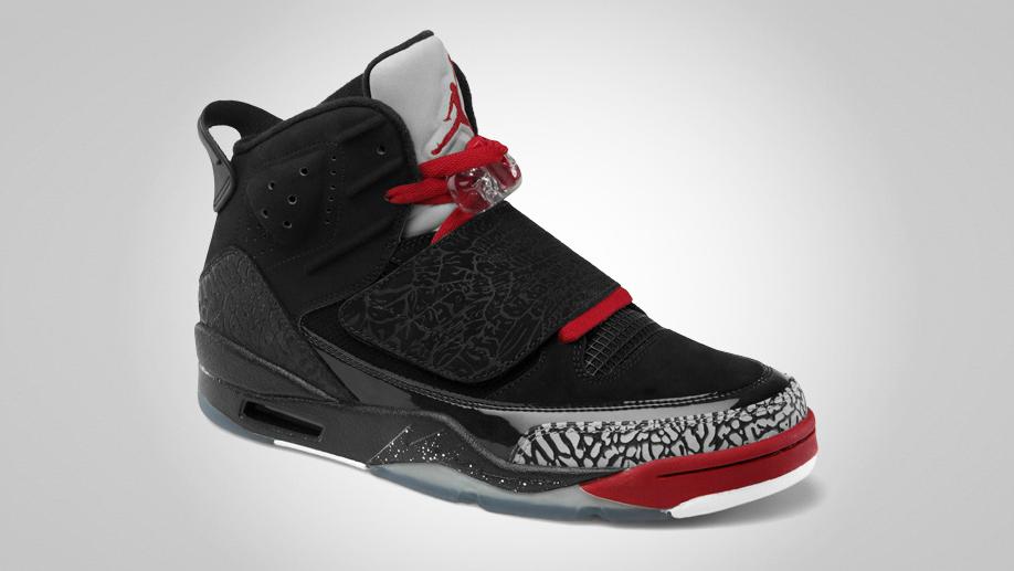 Jordan Son of Mars 'Black/Varsity Red-Cement Grey-White' - Official Images