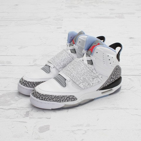 Jordan Son of Mars GS 'White/Prism Blue-Wolf Grey'