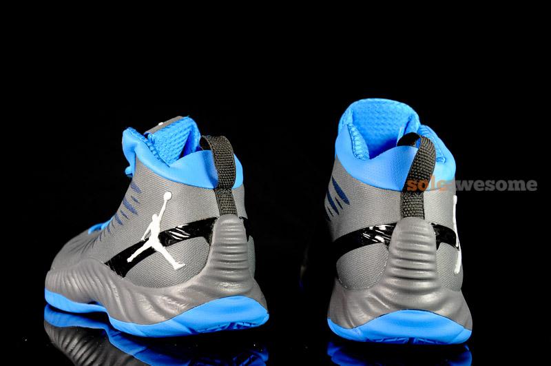 Jordan Super Fly 'Gun Metal/Blue'