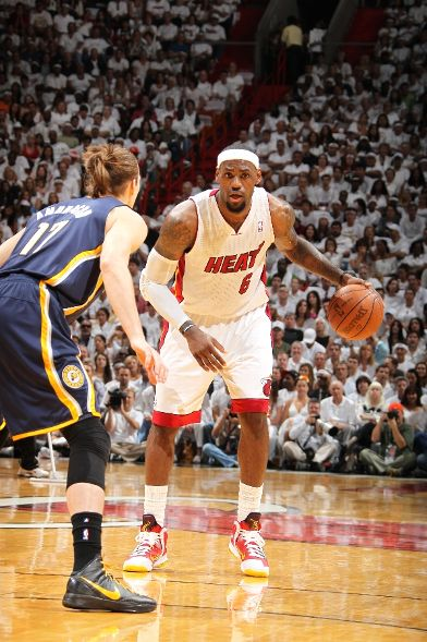 LeBron Debuts 'MVP' Kicks Against the Pacers