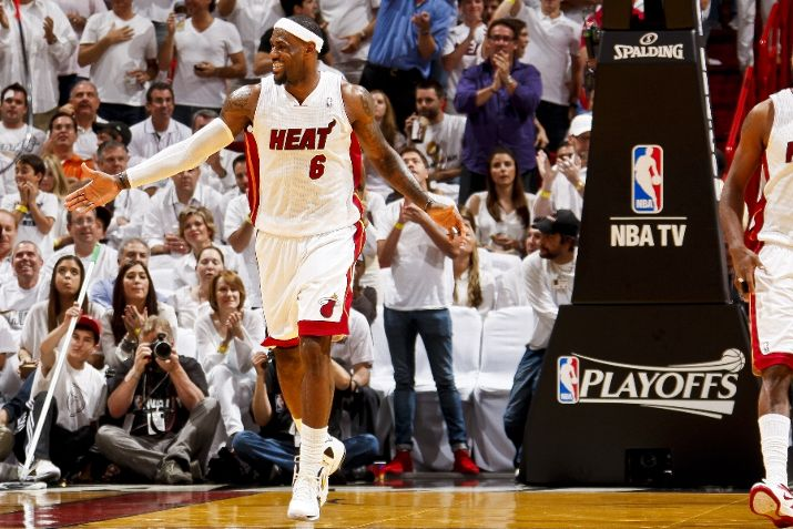 LeBron Leads the Way in Game 5 in the 'Home' P.S. Elite