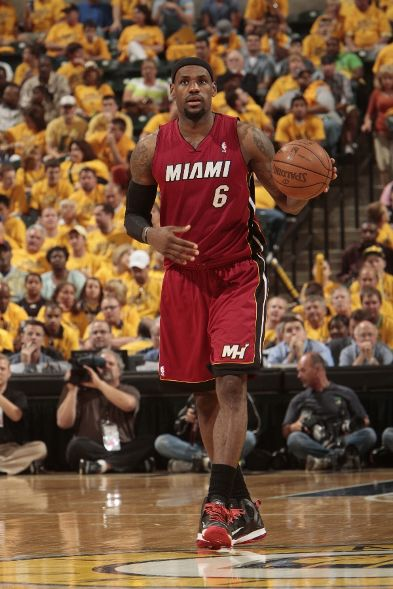 LeBron Sports 'Away' PE in Indiana for Game 3
