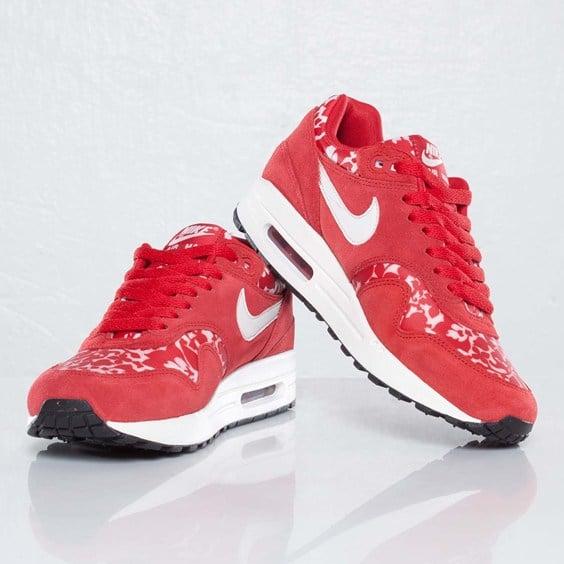 the best attitude 4b97d 39743 Liberty x Nike Women s Air Max 1  Sport Red