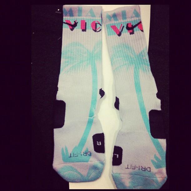 'Miami Vice' Nike Elite Socks