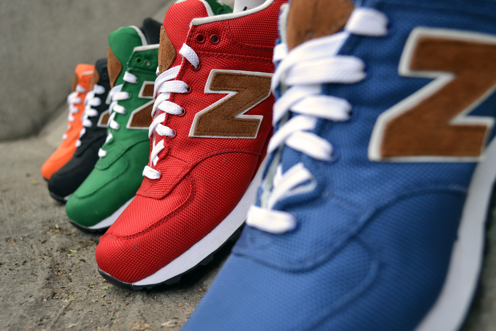 New Balance 574 Backpack Collection - Fall 2012