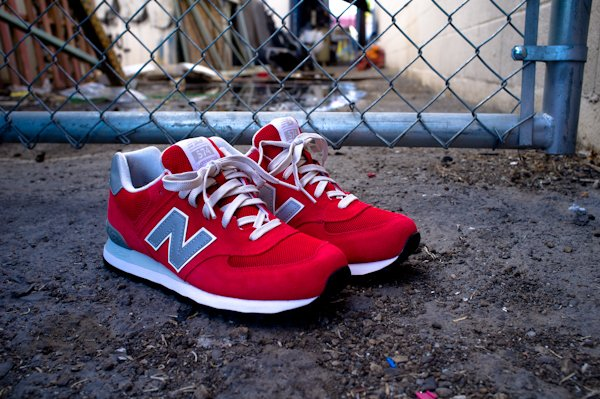 New Balance 574 Red Elite Edition