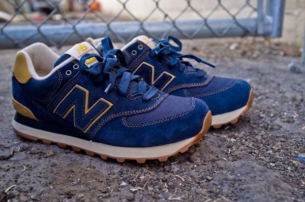 New Balance 574 Workwear Pack Blue