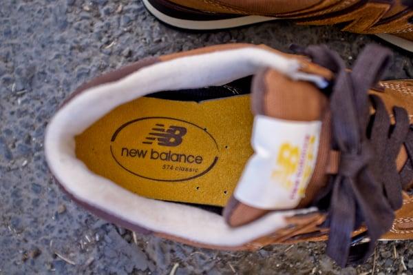 New Balance 574 Workwear Pack Brown