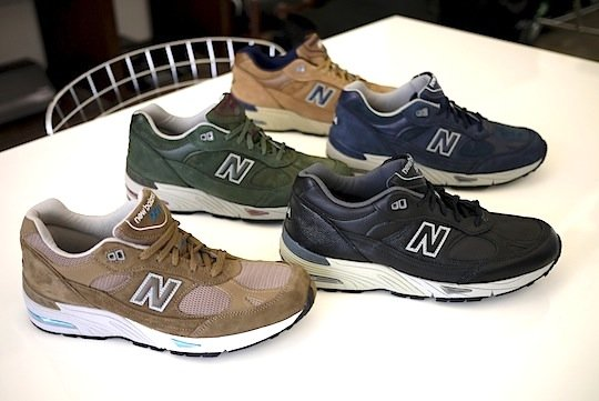 New Balance 991 Made In The Usa Fall Winter 2012 Preview Sneakerfiles