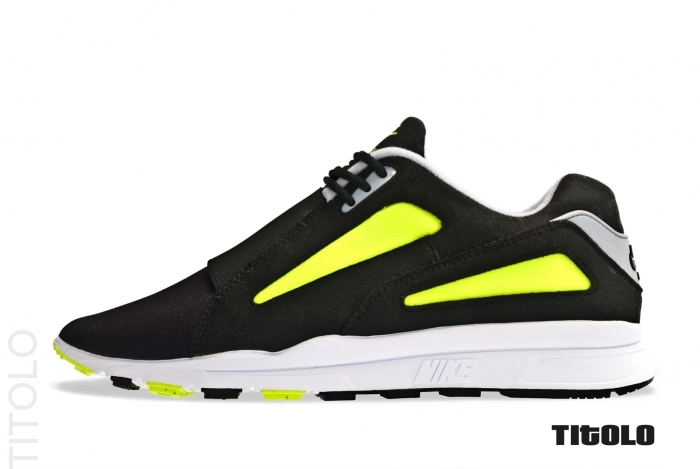 Nike Air Current 'Black/Black-Wolf Grey-Volt' - Another Look