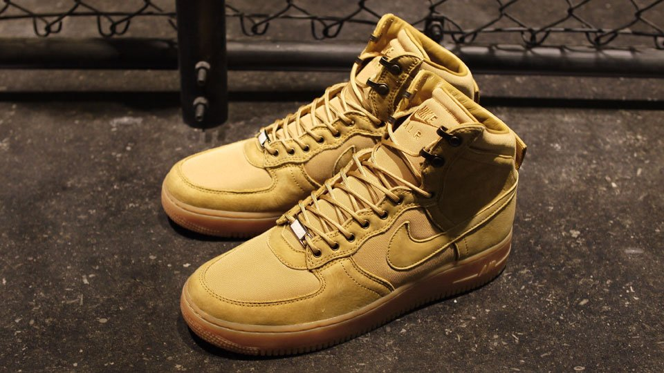 best service 25dba 81b97 Nike Air Force 1 High DCN Military Boot  Golden Harvest  - Another Look
