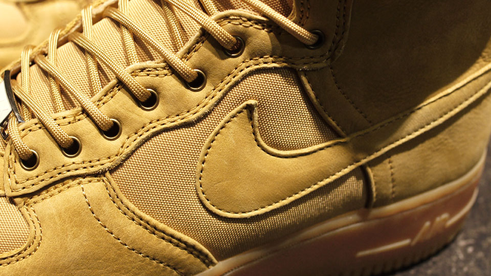 Nike Air Force 1 High DCN Military Boot 'Golden Harvest' - Another Look