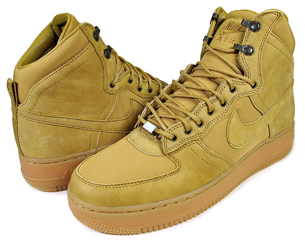 Nike Air Force 1 High DCN Military Boot 'Golden Harvest' - New Images