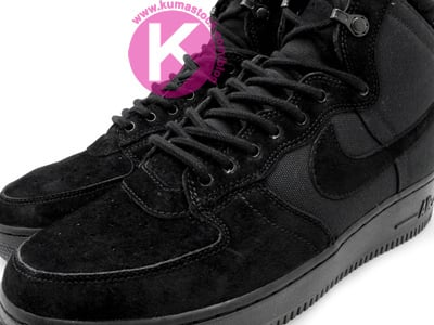 Nike Air Force 1 High Decon Military Boot Black