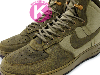 Nike Air Force 1 High Decon Military Boot 'Olive' | SneakerFiles
