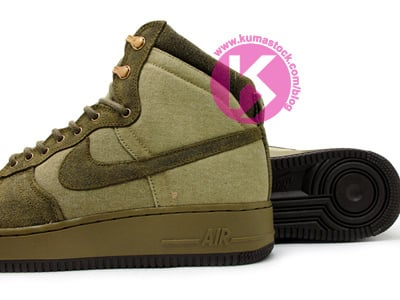 Nike Air Force 1 High Decon Military Boot Olive